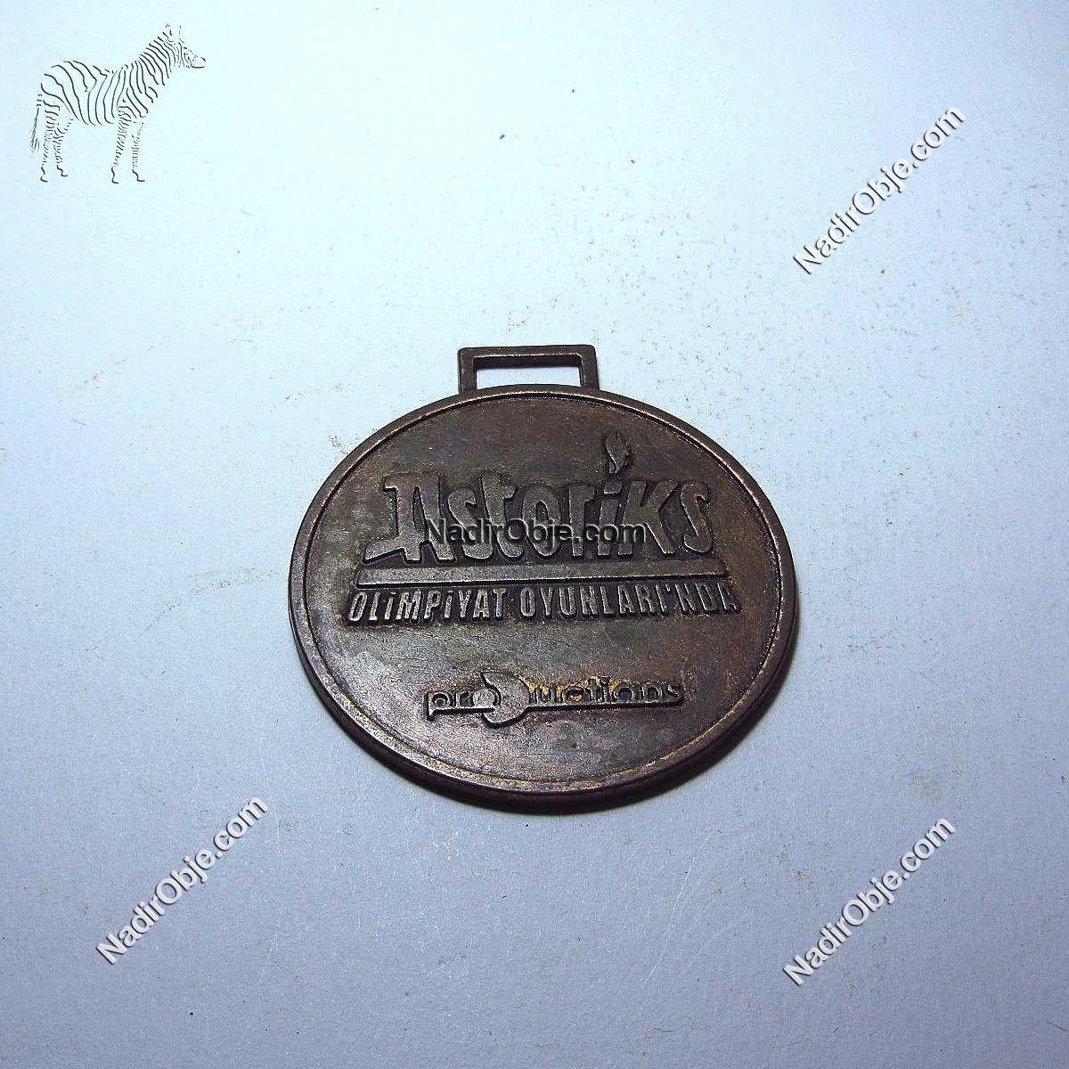 Asteriks Olimpiyat Madalya Diğer Objeler Asteriks