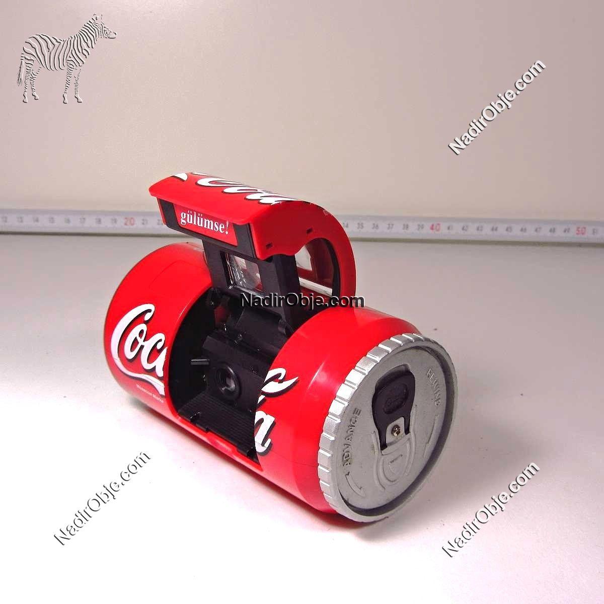 Coca Cola Fotoğraf Makinası Mekanik-Elektrikli Objeler Coca Cola