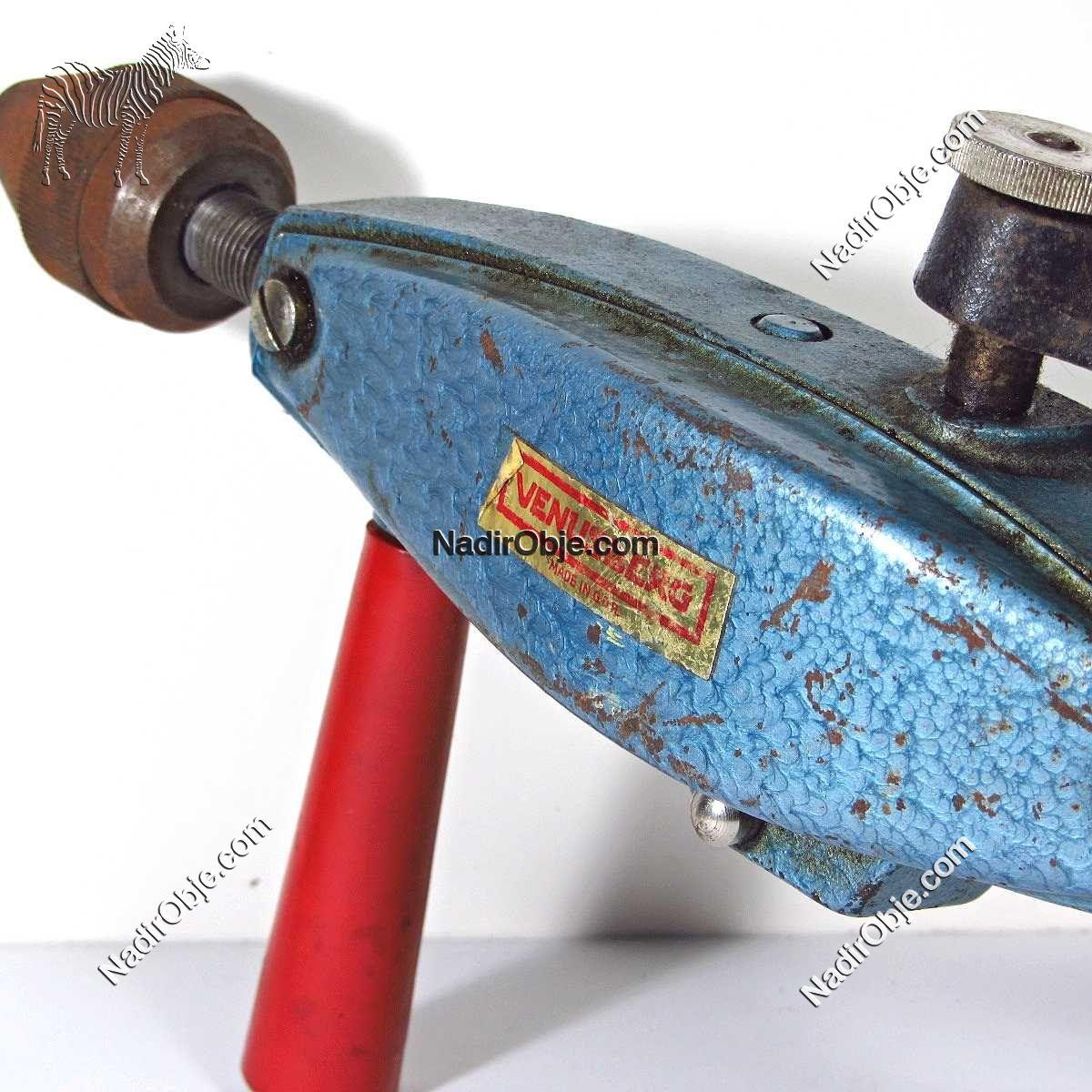 Doğu Alman Yapımı Matkap Mekanik-Elektrikli Objeler Doğu Almanya