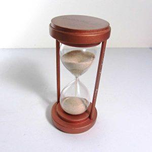 İlaç Promosyonu Kum Saati Cam-Taş Objeler İlaç