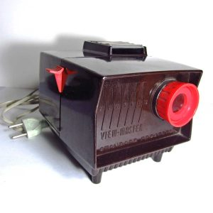 View-Master Film Gösterim Cihazı Mekanik-Elektrikli Objeler Bakalit