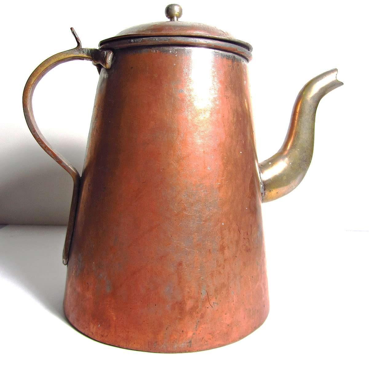 Amerikan Çaydanlık Metal Objeler Amerikan