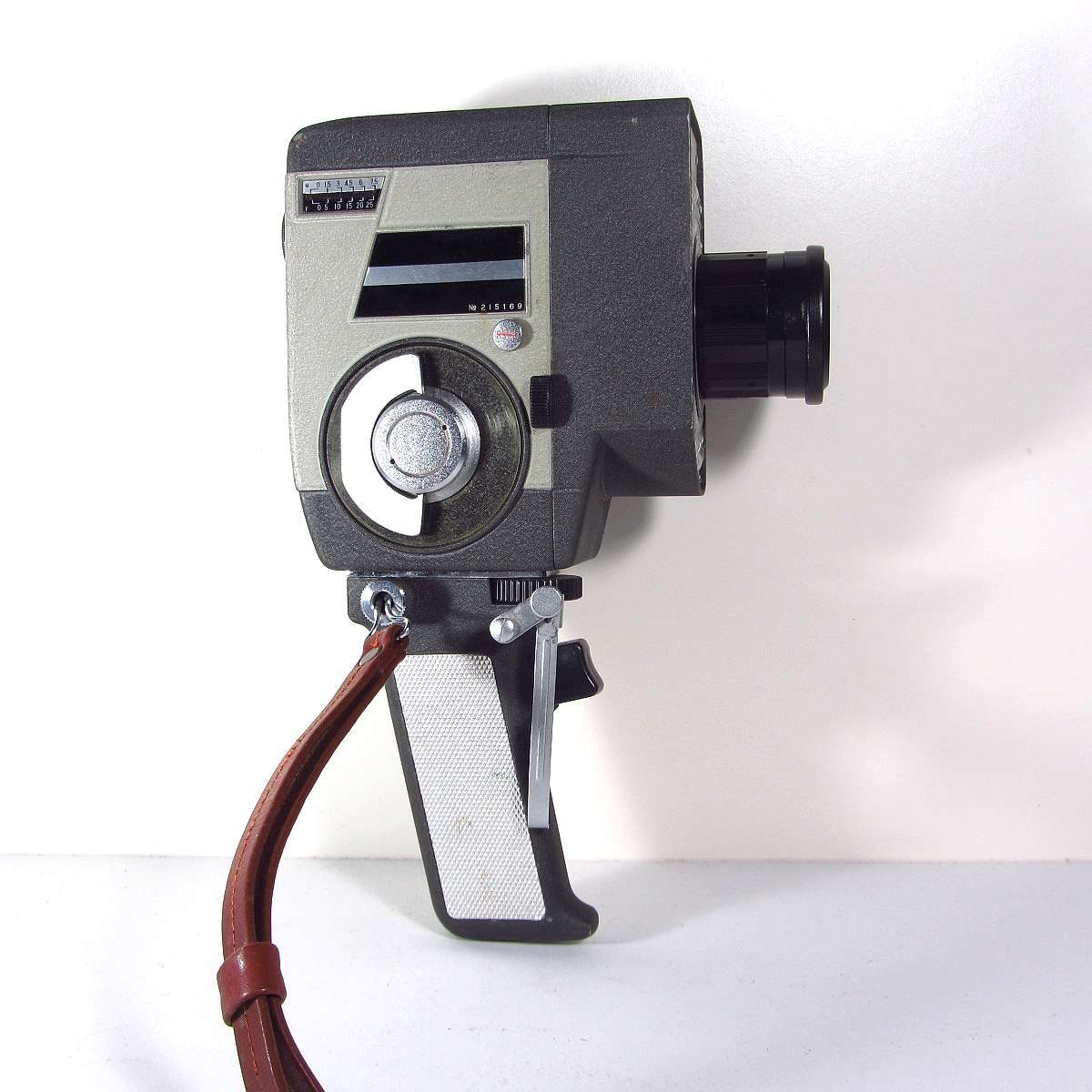 Crown 8 Kurmalı Video Kamera Mekanik-Elektrikli Objeler Film