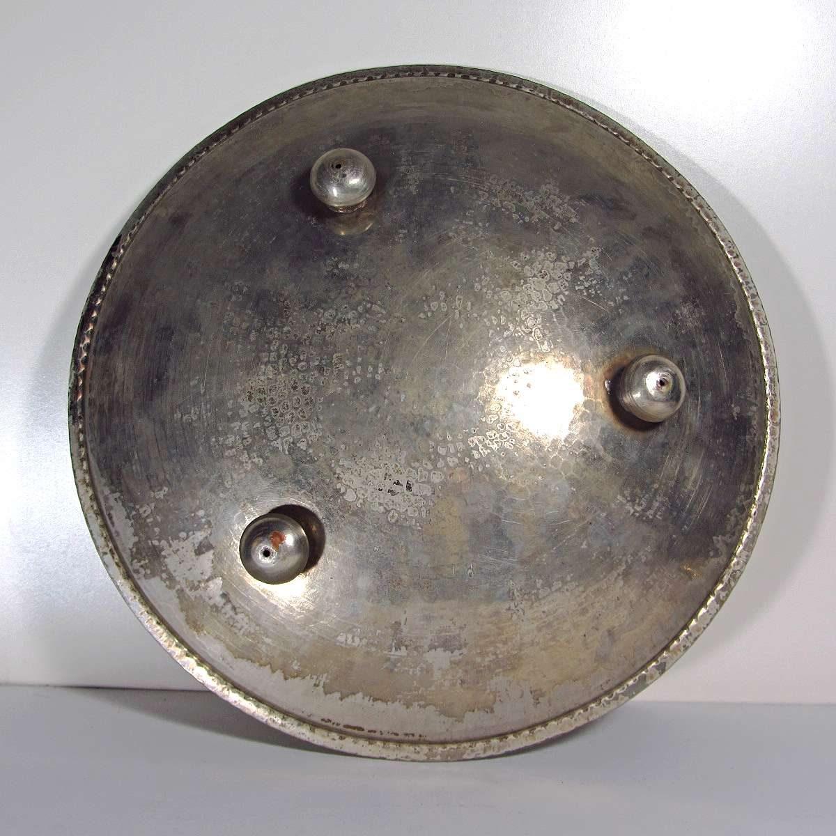 Kalaylı Bakır Tabak Metal Objeler Antep