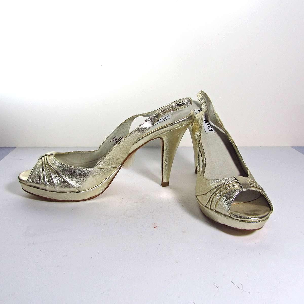 Steve Madden Gelin Ayakkabısı Deri-Kumaş-Tekstil Ayakkabı