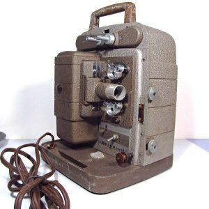 Bell & Howell Film Makinası Mekanik-Elektrikli Objeler Film