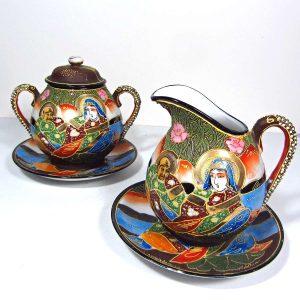 Porselen Şekerlik ve Sütlük Seramik-Porselen Objeler Elişi