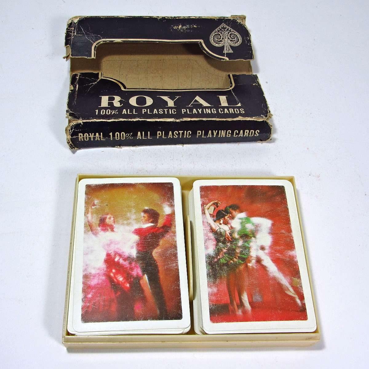 Royal Plastik Oyun Kağıdı Kitap-Plak-Dergi Deste