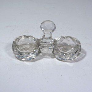 Baccarat Kristal Tuzluk/Biberlik Cam-Taş Objeler Baccarat