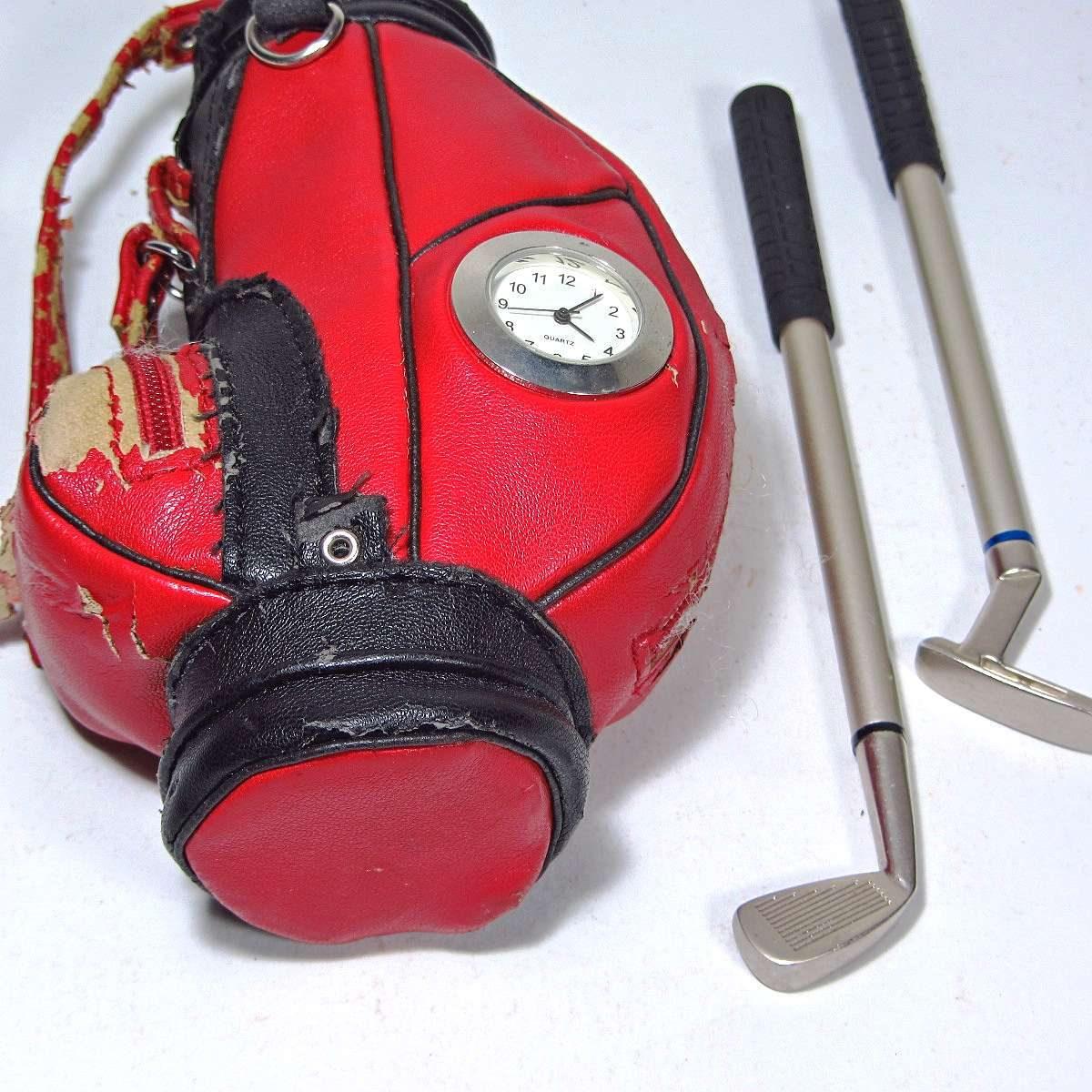 Golf Takımı Kalemlik Deri-Kumaş-Tekstil Golf