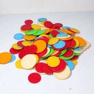 Oyun Jetonları Plastik-Polyester Objeler Casino