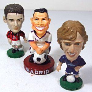 Futbolcu Figürleri Plastik-Polyester Objeler Figür