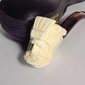 Lületaşı Pipo Cam-Taş Objeler Figür