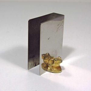 Reed & Barton Kibritlik Metal Objeler Çelik