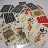 Plastik Oyun Kağıtları Plastik-Polyester Objeler 52