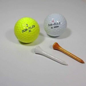 Golf Topları Plastik-Polyester Objeler Golf