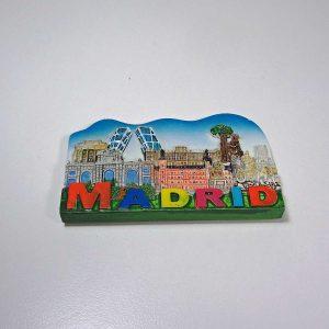 Madrid Buzdolabı Süsü Plastik-Polyester Objeler Buzdolabı