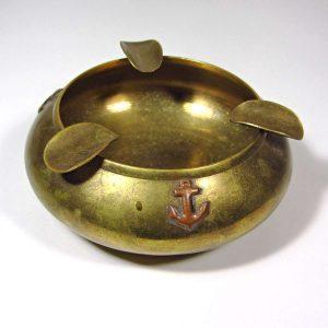 Denizcilik Temalı Küllük Metal Objeler Çapa