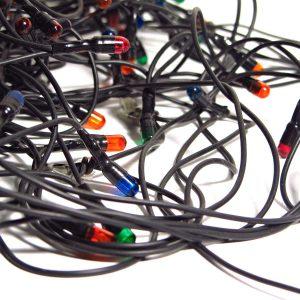 Noel Işıkları Mekanik-Elektrikli Objeler Işık
