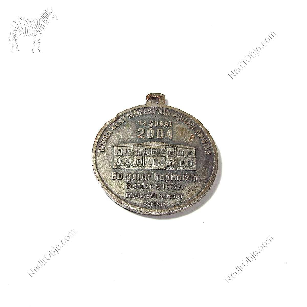 Bursa Kent Müzesi Hatıra Madalya Diğer Objeler Bursa