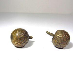 Eski Çekmece Kulpları Metal Objeler Çekmece