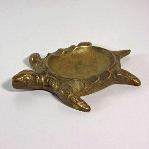 Kaplumbağa Küllük Metal Objeler Kaplumbağa