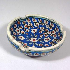 Çini Küllük Seramik-Porselen Objeler Çini