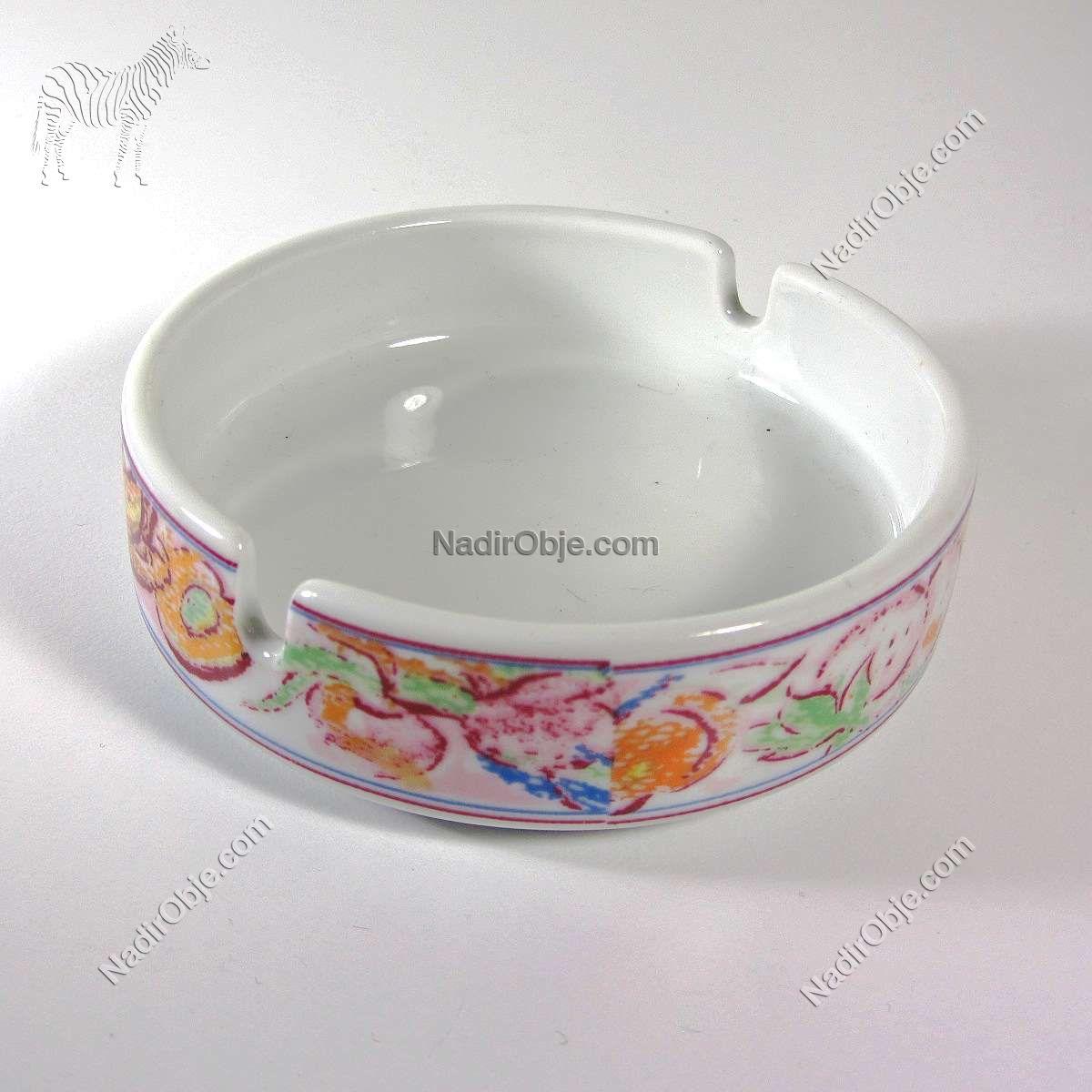 Porland Porselen Küllük Seramik-Porselen Objeler Kül Tabağı