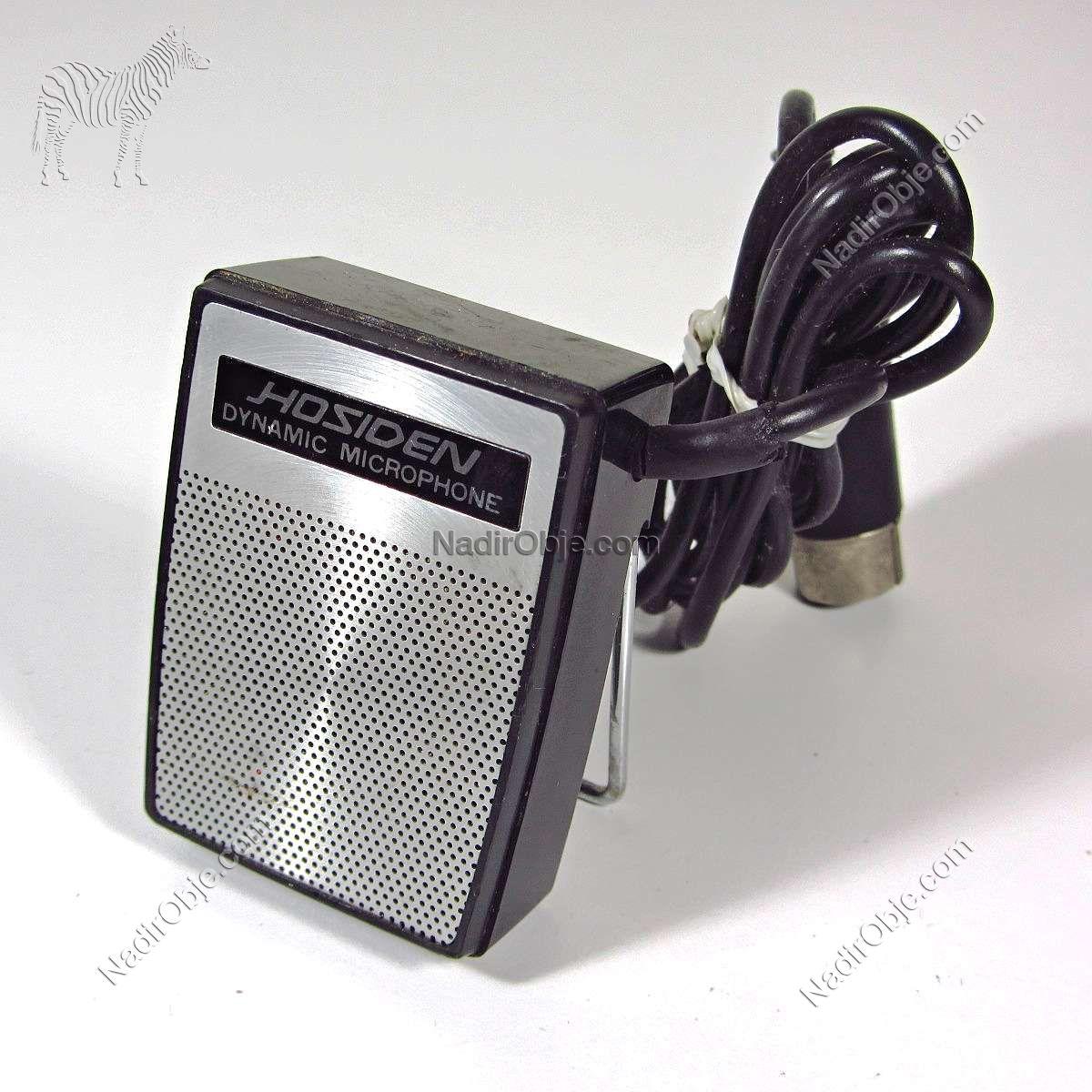 Hosiden Dinamik Mikrofon Mekanik-Elektrikli Objeler Analog