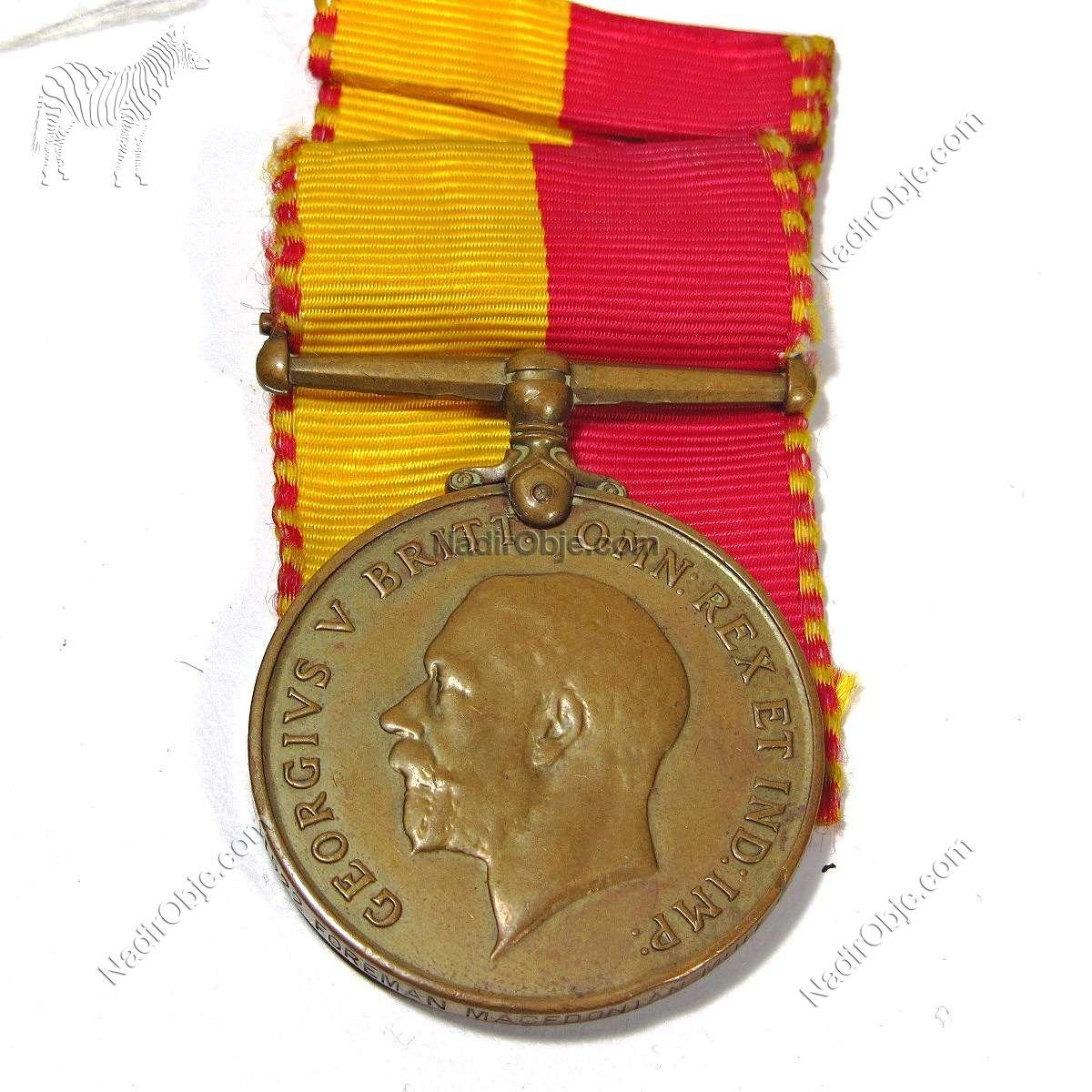 1914-1918 Madalya Diğer Objeler Madalya