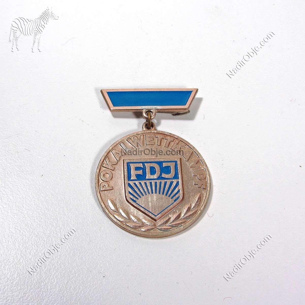 FDJ Madalya Diğer Objeler Aluminyum