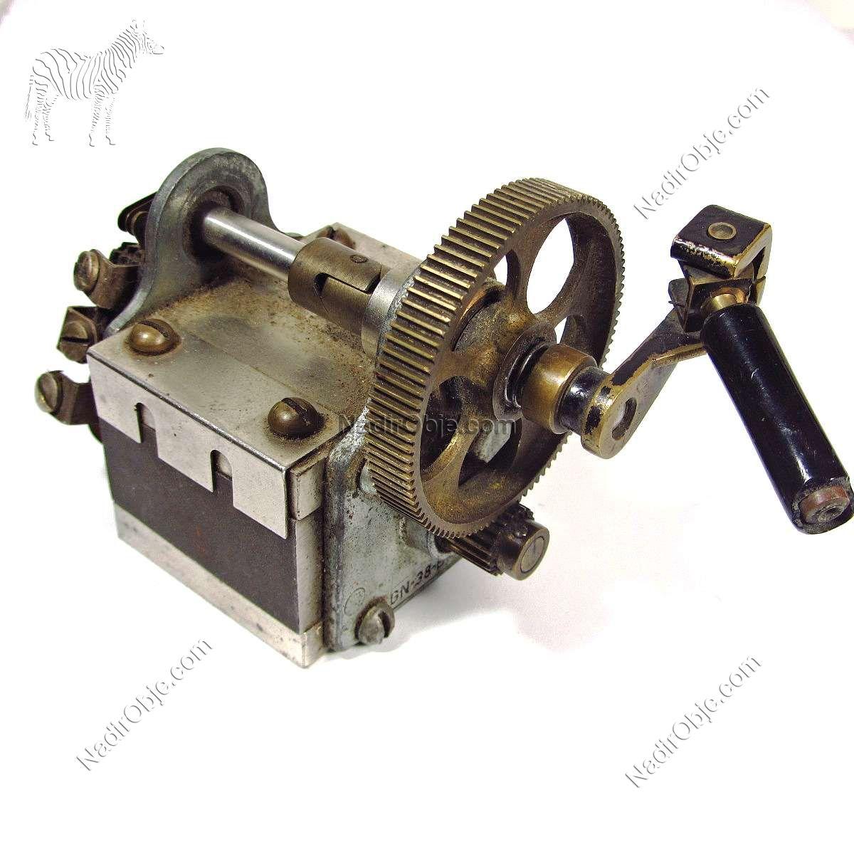 Endüstriyel Makina Mekanik-Elektrikli Objeler Çark