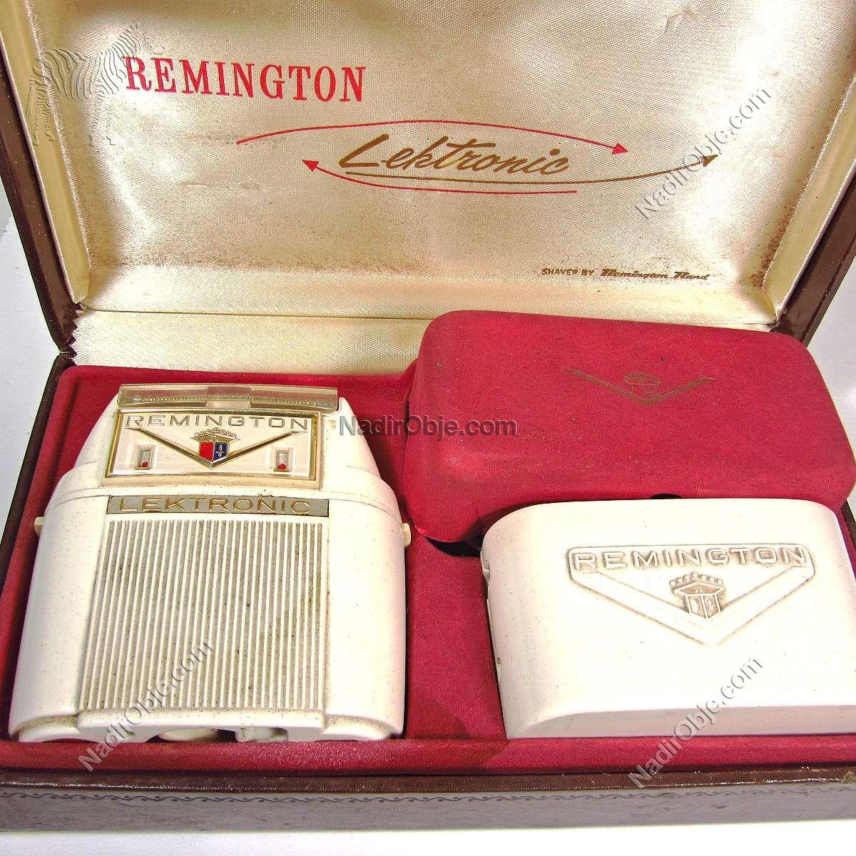 Remington Şarjlı Traş Makinası Mekanik-Elektrikli Objeler Amerikan