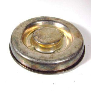 Gümüş Kaplama Küllük Metal Objeler Gümüş