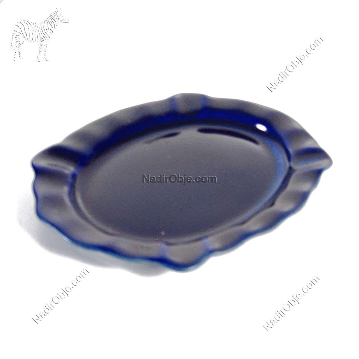 Kobalt Renk Porselen Küllük Seramik-Porselen Objeler Kobalt