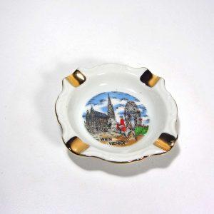 Viyana Hatırası Küllük Seramik-Porselen Objeler Kül Tabağı