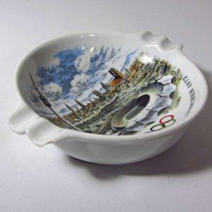 1972 Olimpiyatları Hatıra Küllük Seramik-Porselen Objeler 1972
