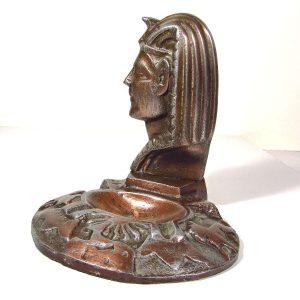 Antik Mısır Temalı Küllük Metal Objeler Kül Tabağı