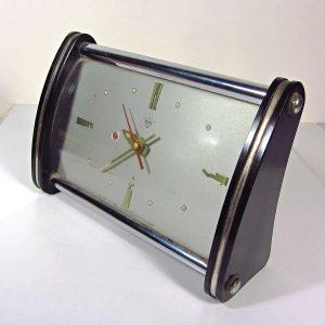 70'ler Masa Saati Mekanik-Elektrikli Objeler Masa Saati
