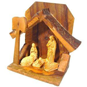 Hıristiyanlık Temalı Masa Dekoru – N1870 Ahşap Objeler Ahşap