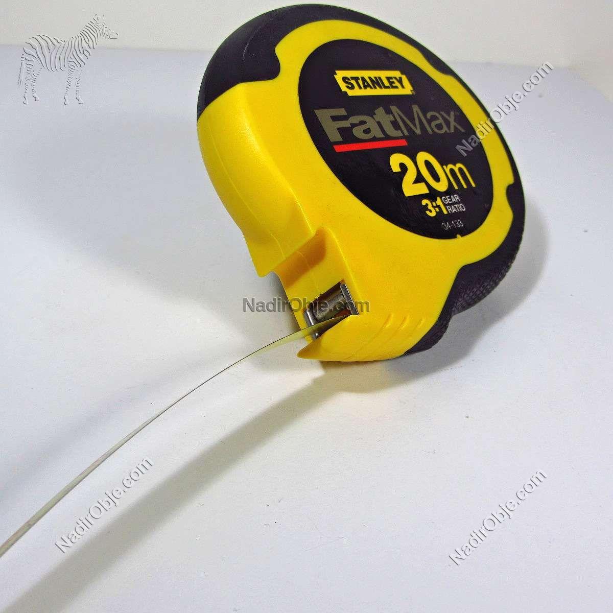 Stanley FatMax 20 Metre – N1872 Mekanik-Elektrikli Objeler FatMax