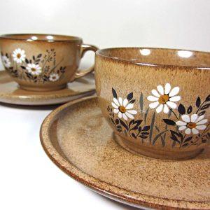 2 Adet Batı Alman Fincan – N1885 Seramik-Porselen Objeler Almanya