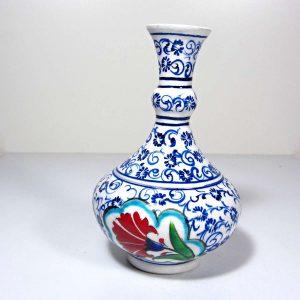 Çini Vazo – N1886 Seramik-Porselen Objeler Çini