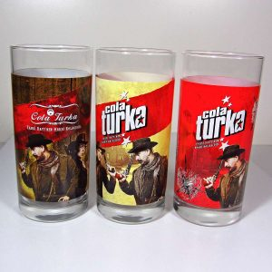 3 Adet Cola Turka Bardak – N1897 Cam-Taş Objeler Bardak