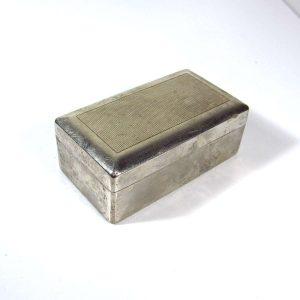 Paslanmaz Çelik Kutu – N1911 Metal Objeler Çelik