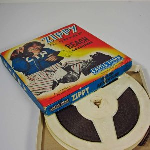 Zippy The Chimp 8 mm Film – N1923 Diğer Objeler 8mm