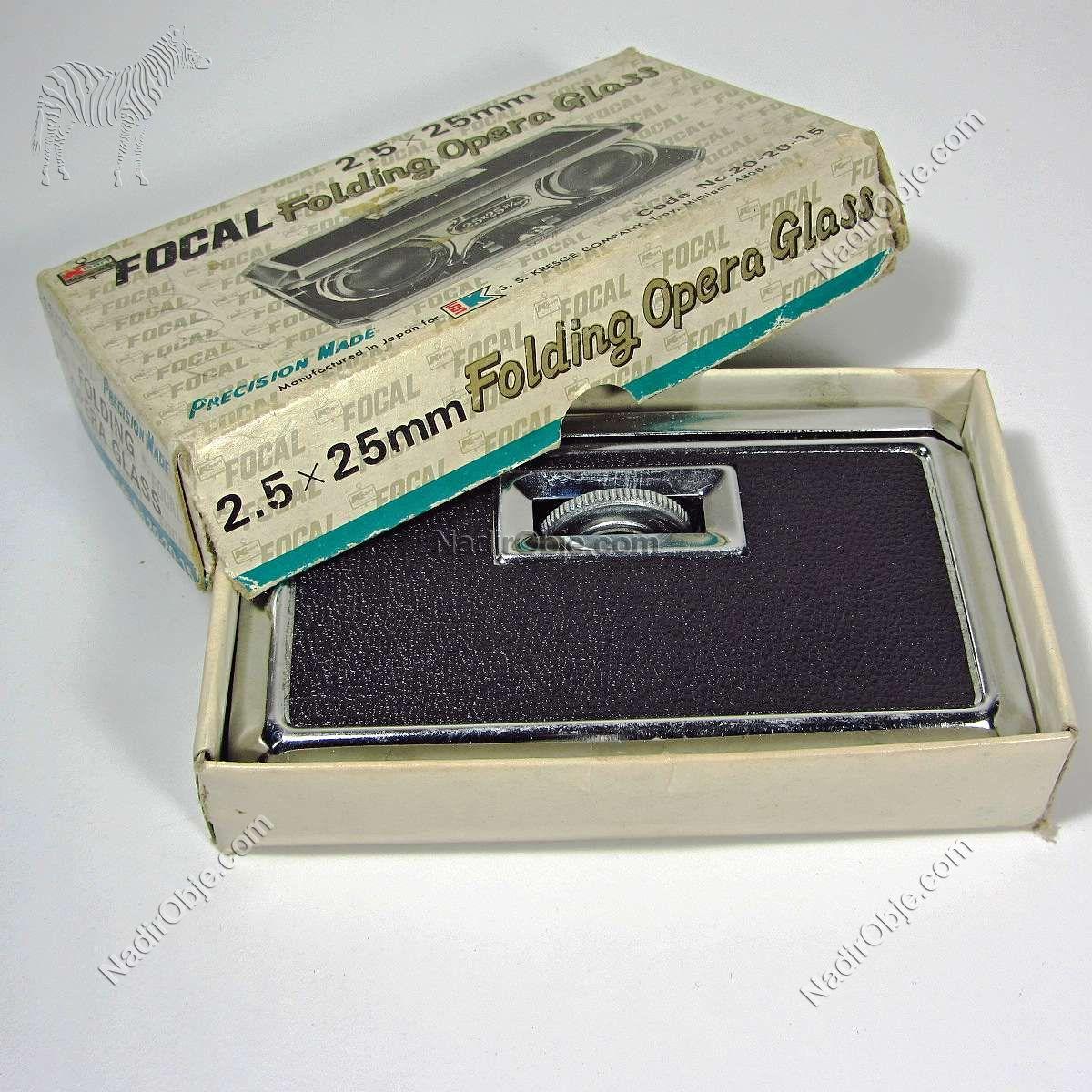 Katlanabilir Opera Dürbünü – N1924 Mekanik-Elektrikli Objeler Dürbün