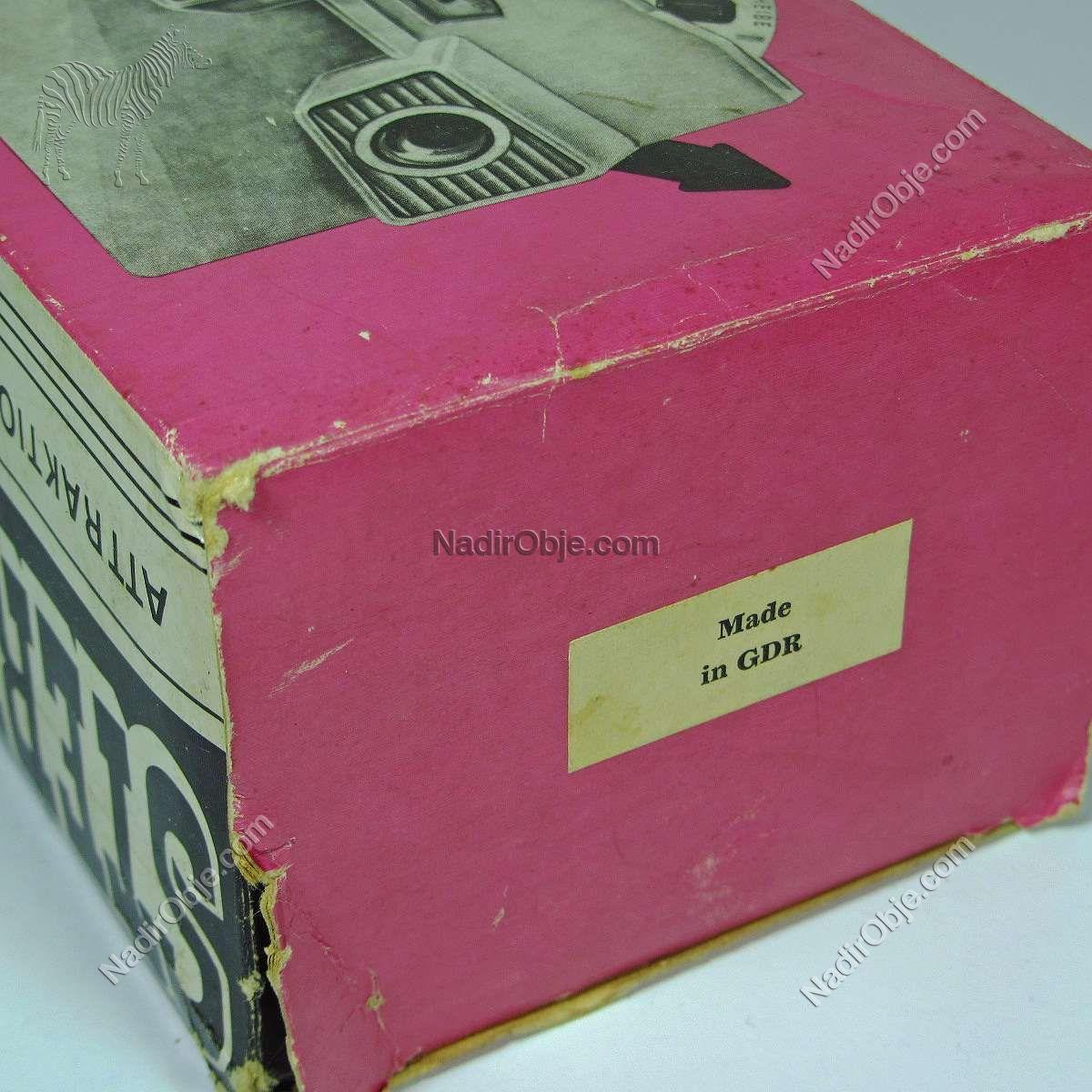 GDR (Doğu Almanya) Üretimi Stereobox + 3 Film Diğer Objeler 3 boyutlu
