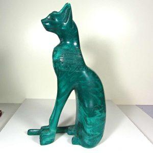 Mısır Kedisi Plastik-Polyester Objeler Kedi