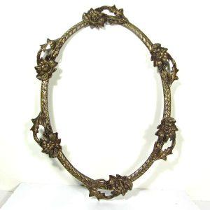 Pirinç Çerçeve – N1933 Metal Objeler Ayna